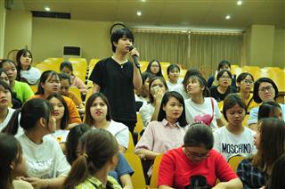 Buổi gặp mặt, giới thiệu của công ty TNHH Công nghiệp BROTHER Việt Nam với Sinh viên Cao đẳng K2017,K2018