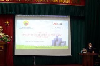 Hội thảo chia sẻ, hướng nghiệp, tư vấn việc làm Cho học sinh - sinh viên