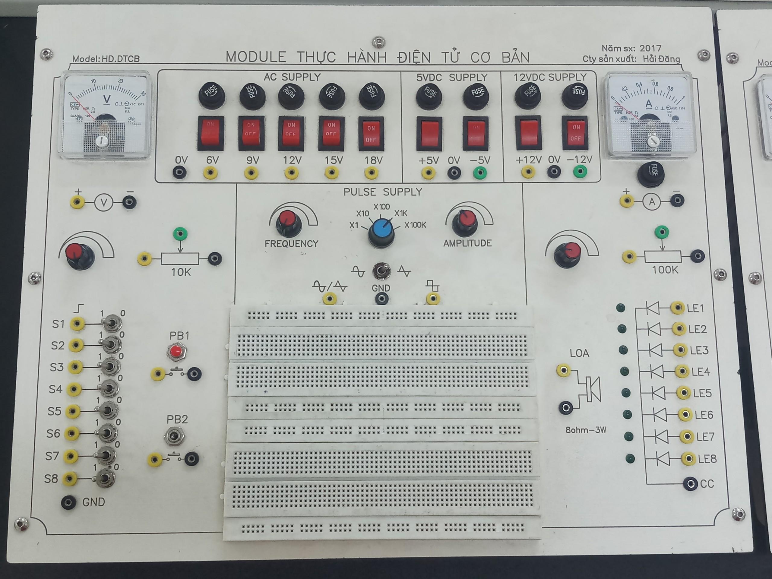 Module Thực hành Điện tử cơ bản