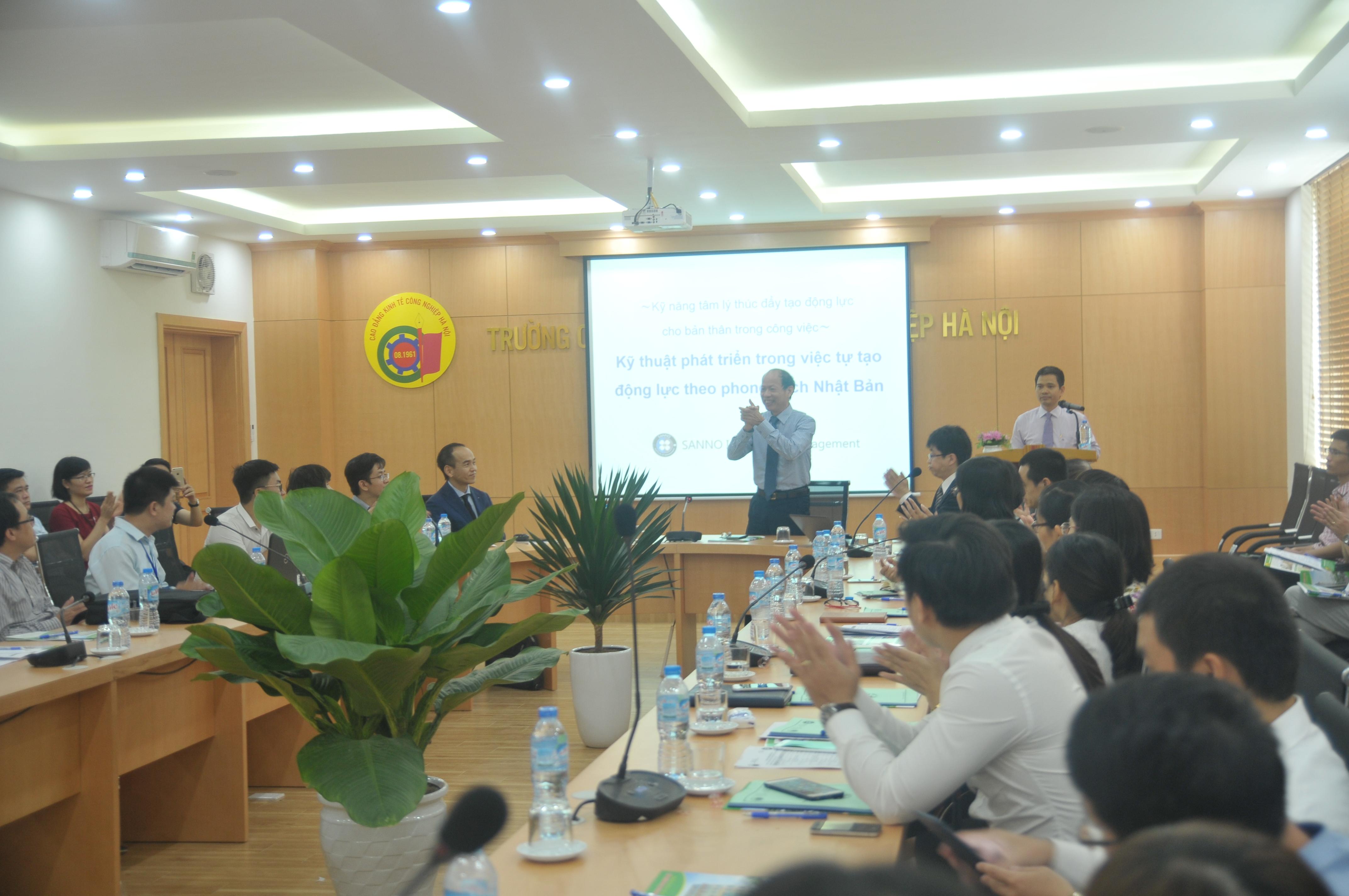 Hội thảo Quốc tế phối hợp với Đại học Sanno - Nhật Bản