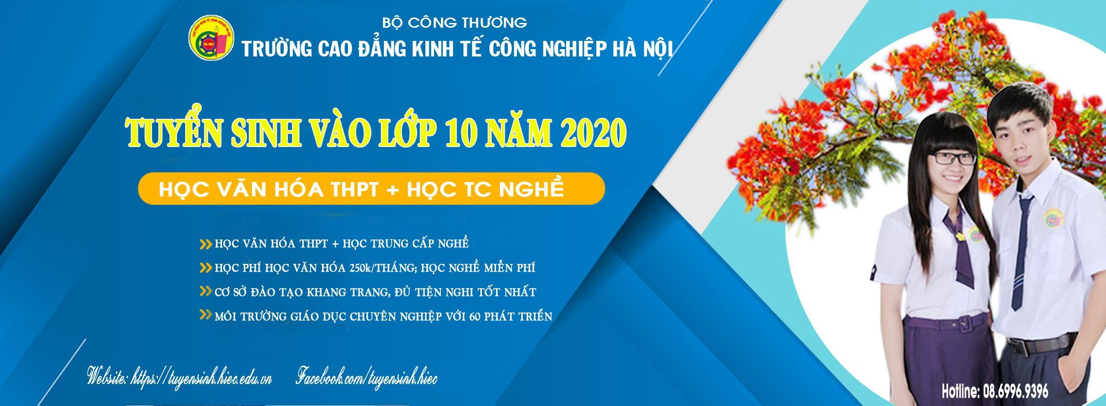 Thông báo tuyển sinh vào lớp 10 năm 2020
