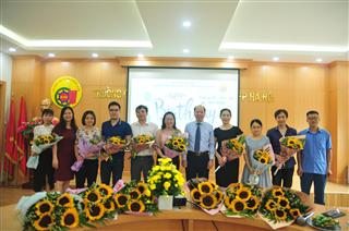 Tổ chức sinh nhật  Tháng 03, 04, 05 cho cán bộ viên chức