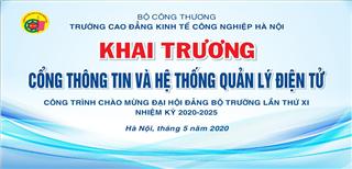 Đảng bộ trường Cao đẳng Kinh tế Công nghiệp Hà Nội chuẩn bị tốt công tác tổ chức đại hội lần thứ XI, nhiệm kỳ 2020 – 2025