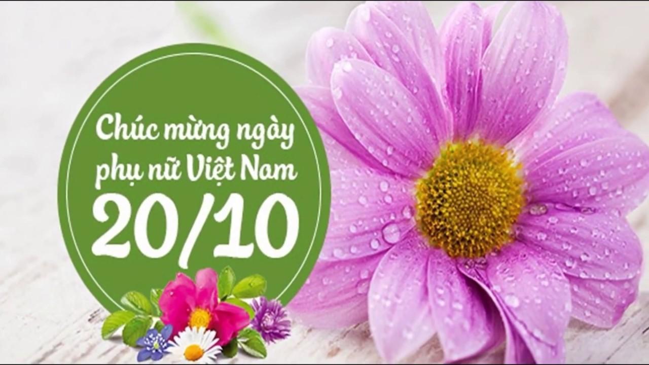 CHÚC MỪNG NỮ CÁN BỘ VIÊN CHỨC NHÂN NGÀY PHỤ NỮ VIỆT NAM 20/10