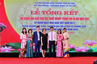 Hội giảng nhà giáo giáo dục nghề nghiệp TP Hà Nội năm 2020 của Giảng viên Trường Cao đẳng Kinh tế Công nghiệp Hà Nội
