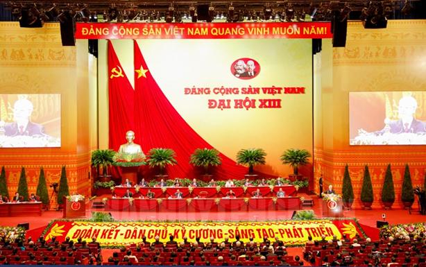 Chào mừng thành công Đại hội Đại biểu Toàn quốc lần thứ XIII của Đảng
