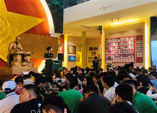 Đợt tham quan trải nghiệm thực tế hệ trung cấp tại Viện bảo tàng các lực lượng vũ trang Việt Bắc – Quân khu 1 và khu du lịch sinh thái hồ Núi Cốc Thái Nguyên ngày 25/4/2021