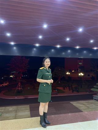 Nữ sinh xinh xắn học giỏi, được tuyển dụng vào Trường sỹ quan chính trị (Đại học chính trị) - Bộ quốc phòng